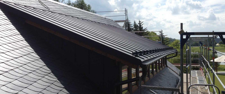 Altdeutsche Schieferdeckung von der Dachdeckerei Klebert aus Plauen